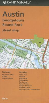 Rand Mcnally Austin/Georgetown/round Rock, Tx Street Map By Rand McNally and Company (COR)